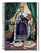 King Andrew The First Spiral Notebook