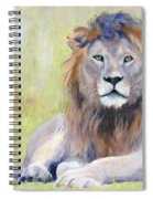 King At Rest Spiral Notebook