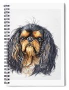 King Charles Spaniel Spiral Notebook