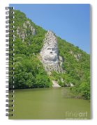 King Decebal, Rock Sculpture Spiral Notebook