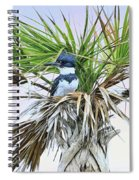 King Fisher Palm Spiral Notebook