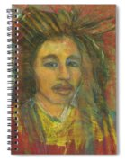 King Gong As A Young Man Spiral Notebook