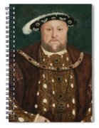 King Henry V I I I Spiral Notebook