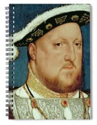 King Henry Viii Spiral Notebook