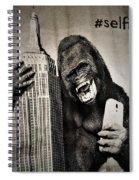 King Kong Selfie Spiral Notebook