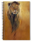 King Leo Spiral Notebook