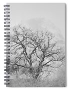 King Mountain Monochrome Spiral Notebook