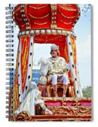 King Of Rex And Page - Mardi Gras New Orleans Spiral Notebook
