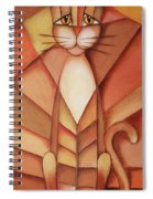 King Of The Cats Spiral Notebook