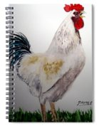 King Of The Coop Spiral Notebook