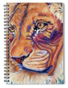King Of The Lions Spiral Notebook