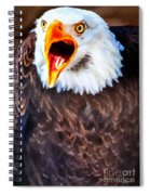 King Of The Raptors Spiral Notebook