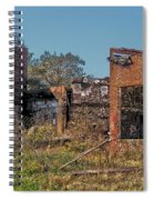 King Of The Rubble Spiral Notebook