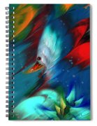 King Of The Swans Spiral Notebook