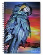 King Parrot 01 Spiral Notebook