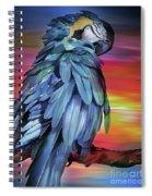 King Parrot 01 Spiral Notebook