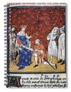 King Philip Iv Of France Spiral Notebook