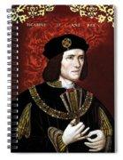 King Richard IIi Of England Spiral Notebook