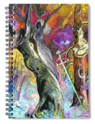 King Solomon And The Two Mothers Spiral Notebook