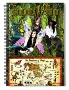 Kingdoms Of Magic Fairy Poster Spiral Notebook