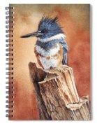 Kingfisher I Spiral Notebook