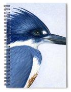 Kingfisher Portrait Spiral Notebook