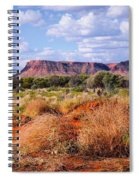 Kings Canyon - Northern Territory, Australia Spiral Notebook