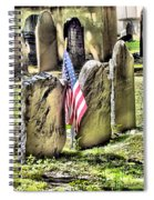 King's Chapel Cemetery  Spiral Notebook