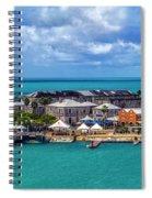 Kings Wharf, Bermuda Spiral Notebook