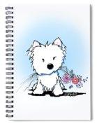 Kiniart Flower Ninja Spiral Notebook