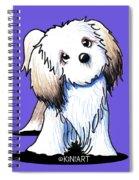 Kiniart Lhasa Apso Spiral Notebook