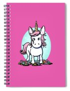 Kiniart Unicorn Sparkle Spiral Notebook