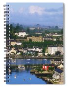 Kinsale, Co Cork, Ireland View Of Boats Spiral Notebook