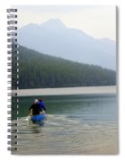 Kintla Lake Paddlers Spiral Notebook