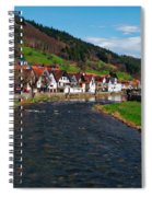 Kinzig River Spiral Notebook