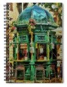 Kiosk Cafe, Valletta, Malta Spiral Notebook