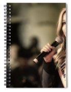 Kira Kazantsev Spiral Notebook