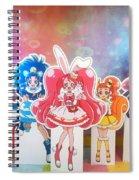 Kirakira Precure A La Mode Spiral Notebook