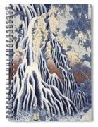 Kirifuri Fall On Kurokami Mount Spiral Notebook