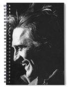 Kirk Douglas Laughing Old Tucson Arizona 1971 Spiral Notebook