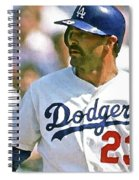 Kirk Gibson, Los Angeles Dodgers Spiral Notebook