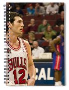 Kirk Hinrich Spiral Notebook