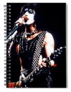 Kiss In Concert Spiral Notebook