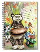Kiss Me Goodnight In Whitby Spiral Notebook