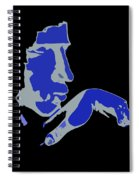 Kiss Of The Blues Spiral Notebook