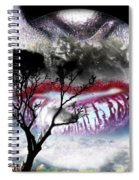 Kiss Of The Moon Spiral Notebook