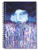 Kiss Of The Silver Moon Spiral Notebook