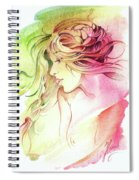 Kiss Of Wind Spiral Notebook