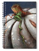 Kissed By The Moon Spiral Notebook