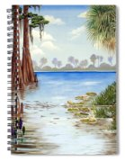 Kissimee River Shore Spiral Notebook